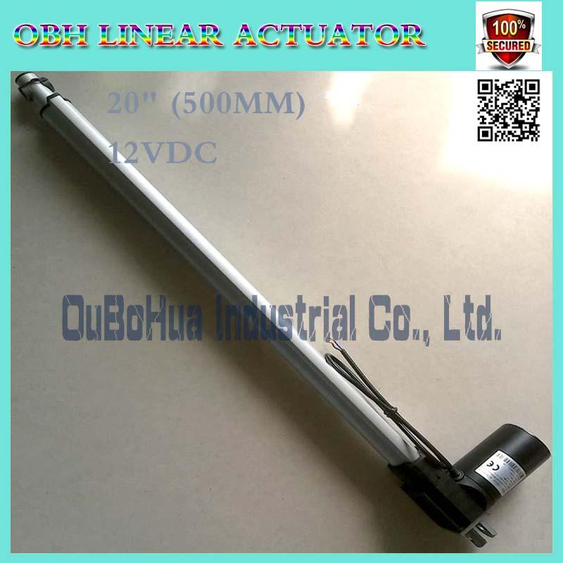 12V 500mm 20inch stroker 5000N 5mm s linear actuator electric linear actuator mini linear actuator tv