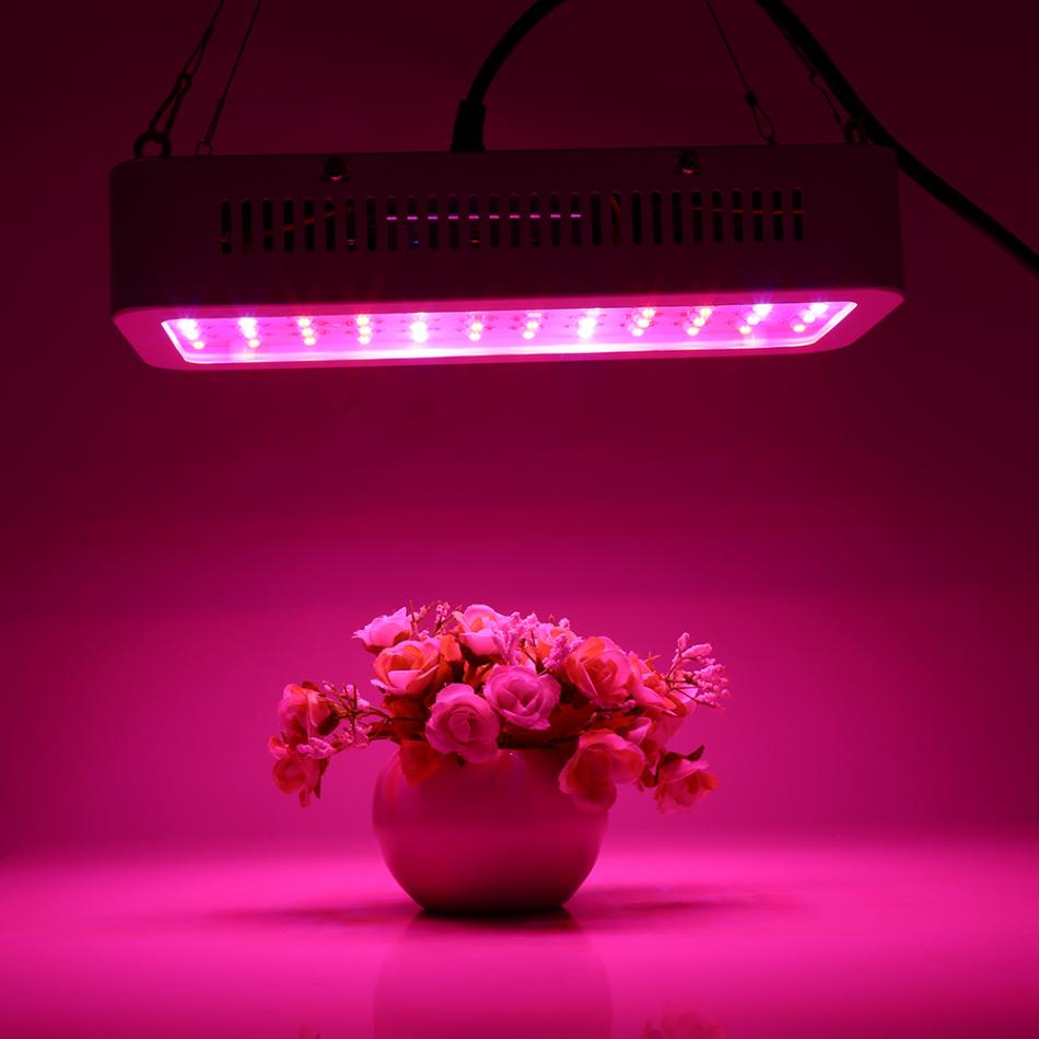 85-265V Full Spectrum LED Grow Light 600W 60LED Plant Grow Light Lamp LED For Plants Aquarium Hydroponics Lamp AU/US/EU/UK Plug 200w full spectrum led grow lights led lighting for hydroponic indoor medicinal plants growth and flowering grow tent