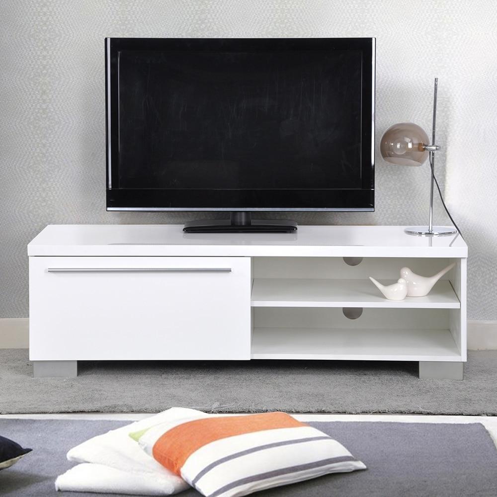 Aingoo Moderne Meuble Tv Blanc Meubles De Salon Moderne Stand  # Meuble Moderne Pour Tv