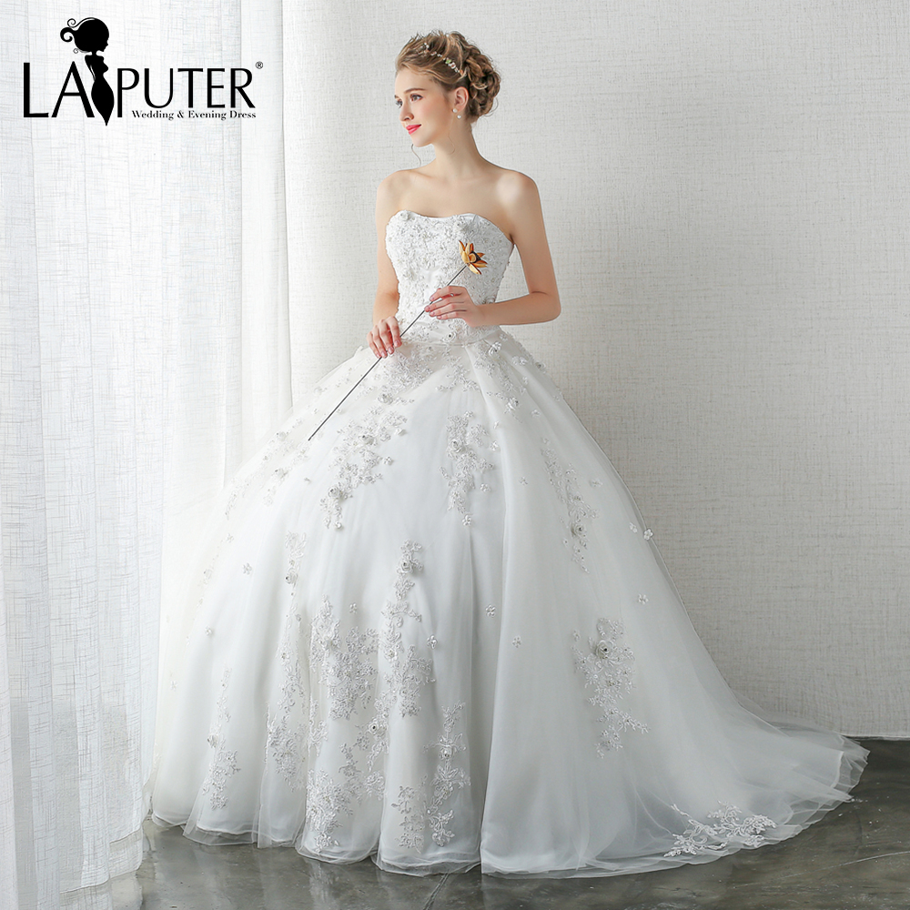 Princess Ball Gowns For Wedding: Real Pictures Princess Ball Gown Tulle Wedding Dresses