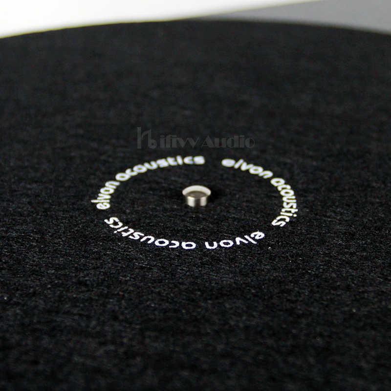 Нескользящий коврик LP, антистатический утепленный коврик для виниловой пластинки 12 дюймов, 2 мм