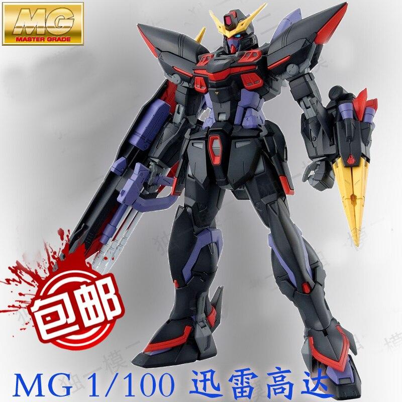 ФОТО Daban 6615 2016 Model GAT-X207 Blitz MG 1/100 Gundam Seed Mobile Suits ZAFT Assembled MG 157 Action Figures plastic toys Japan