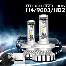 R8 2x Car LED Headlight Bulbs 6000K 12000LM H1 H7 H4 H11 Auto Lamps Fog Lamp 9005 9006 H3 9012 Headlight Bulbs for Car(China)