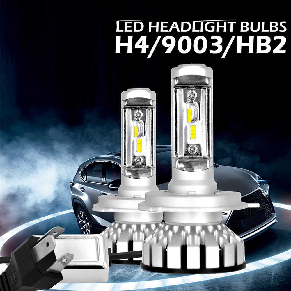 R8 2x LED Headlight Bulbs 6000K 12000LM H1 H7 H4 H11 Auto Lamps Fog Lamp 9005 9006 H3 9012 Headlight Bulbs