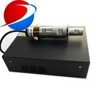 Máquina de soldadura ultrassônica plástica não tecida do abs do pe do pvc dos pp gerador 15khz 20khz da vibração da soldadura ultrassônica para Peças p/ limpador ultrassônico     -
