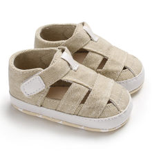 Baby Shoes Infant Kids Sandals Newborn Baby Girl Boy Pure Color Prewalker Sandals Single Shoes Mini Melissa Zapatillas Nina(China)