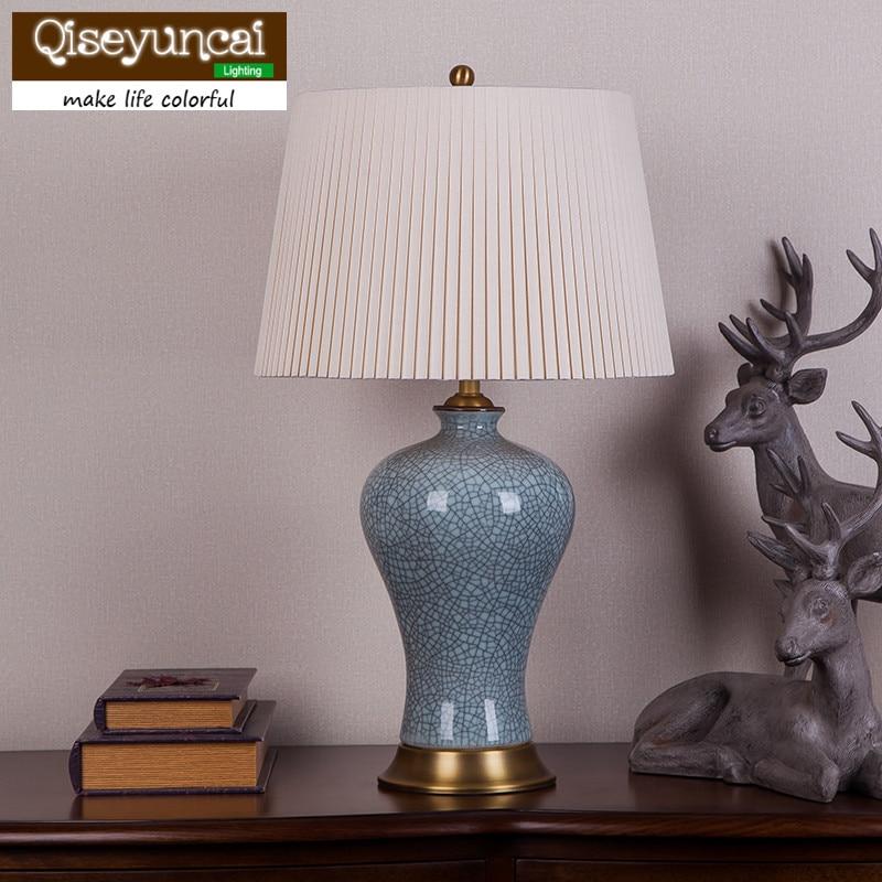 Qiseyuncai 2018 new Nordic Стекло PH настольная лампа Гостиная исследование Спальня прикроватные личность творческий простой Книги по искусству лампа