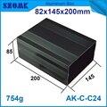 Длина алюминиевый электронный корпус 82*145*200 мм алюминиевый корпус diy электрическая распределительная коробка