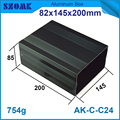 Lengte aluminium elektronische behuizing 82*145*200mm aluminium case diy aansluitkastje