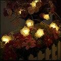 10 M 80 LEDs 110 V 220 V Multicolor LEVOU luzes Da Corda à prova d' água IP65 Ao Ar Livre Luzes De Natal Festa de Casamento Férias Decotation