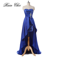 Wedding Party Bridesmaid Gowns Fashion Women Elegant Satin Long Dresses 2016