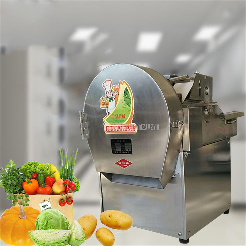 Electric Food Vegetable Cutting Machine Cutter Slicer Cabbage Chilli Leek Scallion Celery Scallion Cutting Machine 0.24KW CHD-20