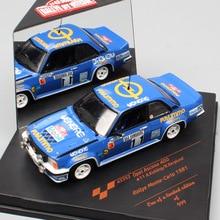Children 1:43 Scale mini Sunstar Opel Ascona 400 No.11 A.Kullang WRC Rally Monte Carlo 1981 diecast vehicle model racing car toy