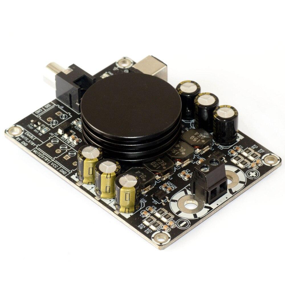 Carte d'amplificateur audio numérique classe D amplificateur Monaural HIFI 100 W TPA3116 avec caisson de basses