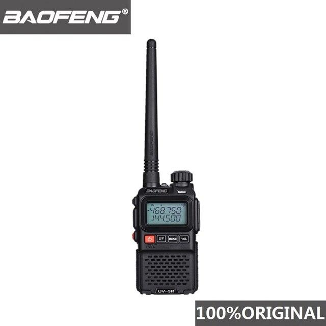 Baofeng UV 3R + usb充電器ミニトランシーバーuv 3Rプラス子供2ウェイラジオUV3R + vhf uhfラジオcomunicadorトランシーバー トランシーバーamador