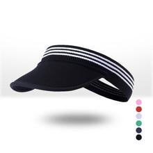 Мужская и wo Мужская Спортивная шляпа с пустым верхом летняя крутая Складная мягкая шляпа с черепом без верхней Солнцезащитная теннисная Кепка