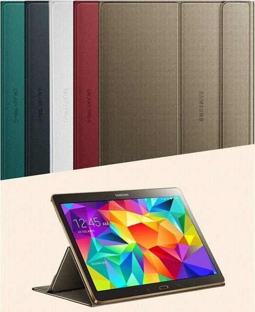 1:1 Официальный Оригинальный Защитная Обложка Книги Case Для Samsung Galaxy Tab S 10.5 T800 T805 Tablet Экран Протектор + Стилус