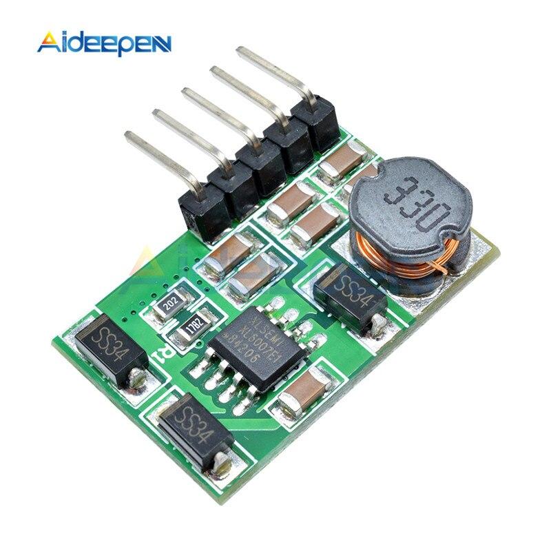 3 V-18 V to+-5V 6V 9V 12V 15V 24V 1.8A 2A положительный и отрицательный двойной Вт конвертер постоянного/переменного тока, повышающий наддува модуль Плата регулятора - Цвет: 24v with pin