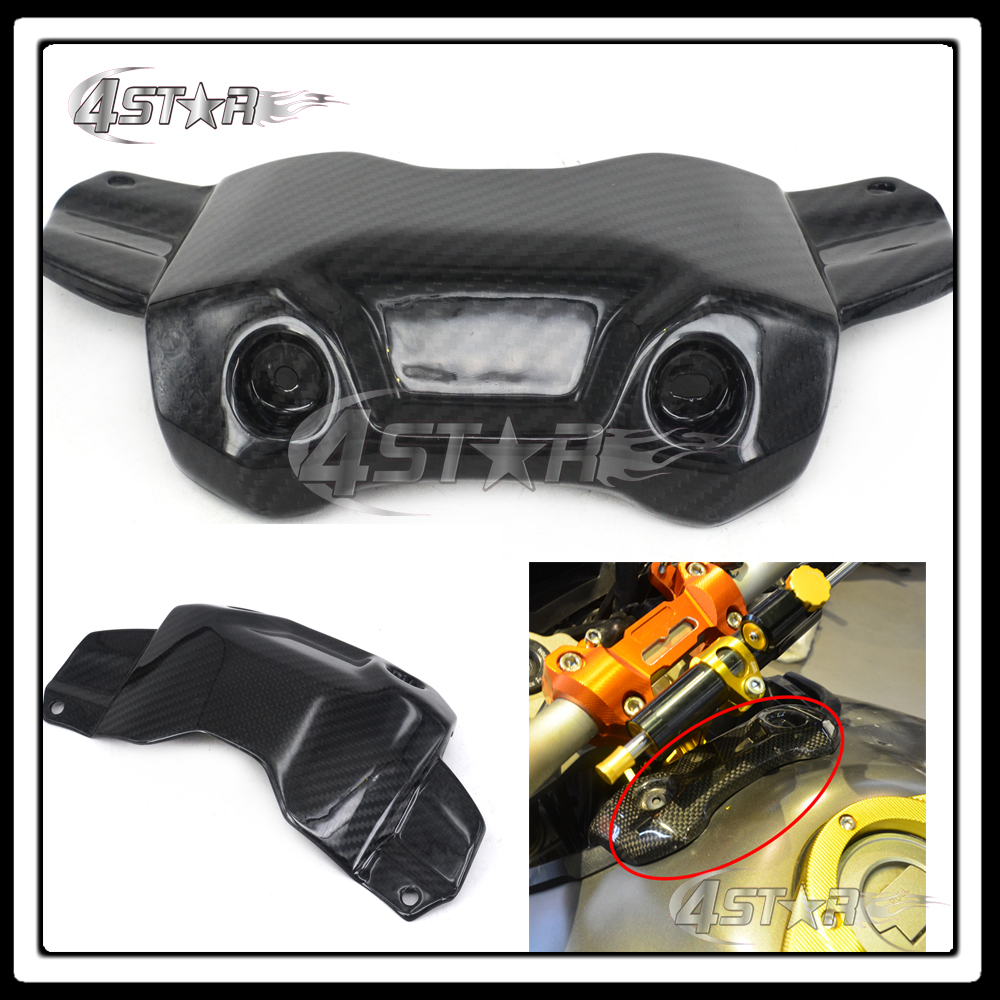 Motocross Motorcycle Carbon Fiber Front Top Gas Tank Protection Cover For Yamaha MT-09 FZ-09 MT09 FZ09 014 2015 2016