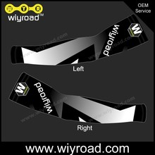 Accept sample cycling warmer bike sleeve,arm compression sleeves for cycling add your logo