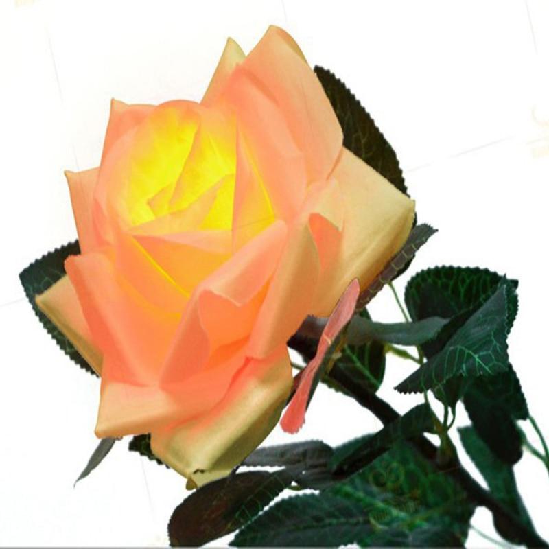 Tours de magie changement de couleur rose quatre couleurs Rechargeable avec Super quatre couleurs pouce astuce lumières (paire)