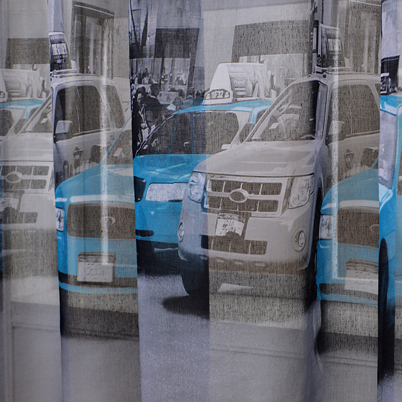 Small Car Windows : Soft cotton linen fabric sheer tulle curtains for
