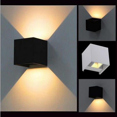 IP65,cube adjustable surface mounted outdoor led  outdoor wall light, up down led wall lamp,6W Led Wall Lamp 10CM*10CM*5CM ip65 cube adjustable surface mounted outdoor led outdoor wall light up down led wall lamp 6w led wall lamp 10cm 10cm 5cm