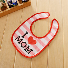 DreamShining Cartoon Baby Bibs Waterproof Newborn Apron Girls Boys Burp Cloths Cute Toddler Saliva Towel Baby Infant Bibs