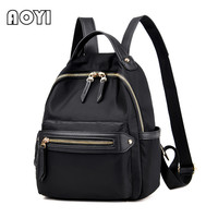 AOYI Fashion Women Oxford Backpack Korean Style Travel Bag Preppy Backpacks For Adolescent Girls Casual School