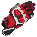 Hot S1 MOTO Motorcycle Racing Gloves Top Leather Black Red White Fashion Motocross Motorbike Guantes Urban Riders Luvas red