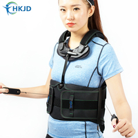 Adjustable thorax lumbar sacrum orthosis Spinal Support for humpback vertebral fracture back brace fixation of surgery