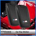 Motorsport M Performance Styling Key Trim 3D Car Sticker M Emblem Logo For BMW X1 X 3 X5 X6 M3 M5 325i 328 F30 F35 F18 GT Series
