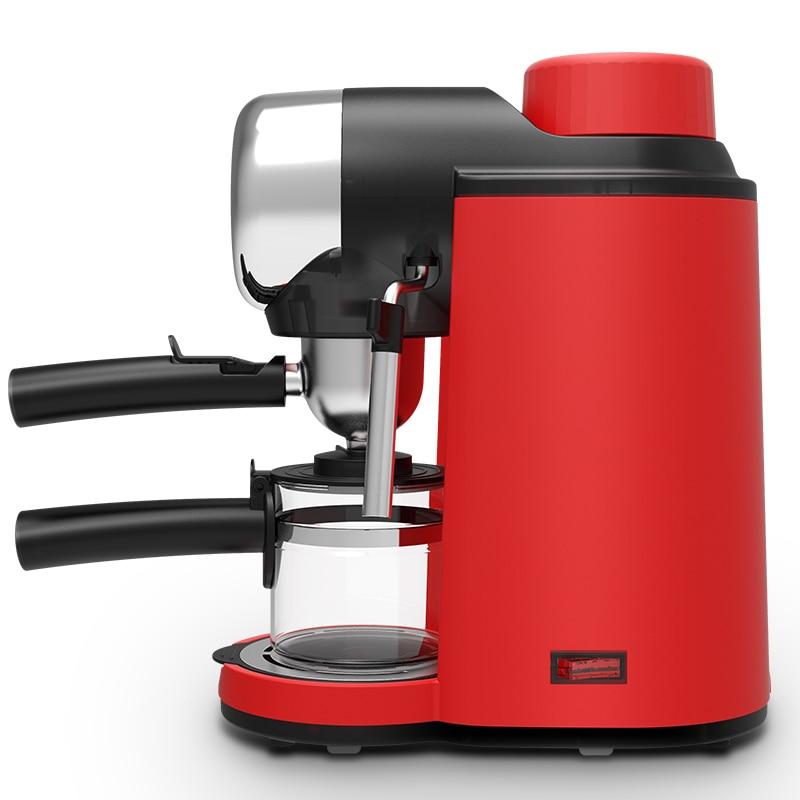 MD 2005 Coffee Machine Cafe Espressomachine 5bar 240 Ml 110 220 240v Rood Household Italian Small Semi automatic Mini Coffee Pot
