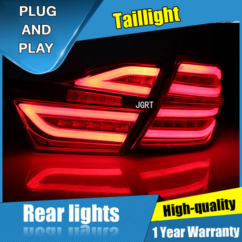 4PCS Car Styling for Toyota new Camry Taillights 2015-2016 for  New Camry LED Tail Lamp+Turn Signal+Brake+Reverse LED light