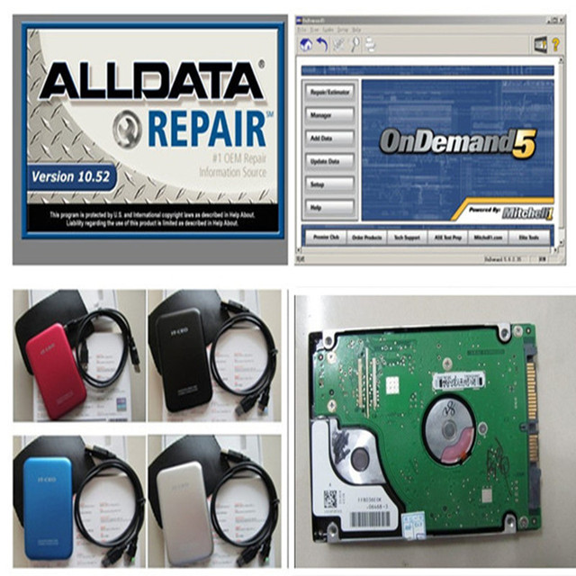 2017 auto repair software Alldata 10.53+ Mitchell ondemand 5.8 + ...