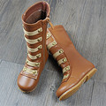 Top quality Winter Baby genuine leather Girls Boots Female kids Fashion Boots Waterproof long-cylinder children snow Boots
