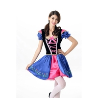 New Arrival Adult Snow White Costume Fancy Dresses Fairy Tale Princess Fancy Dress Halloween Costume Biancaneve Blanche neige