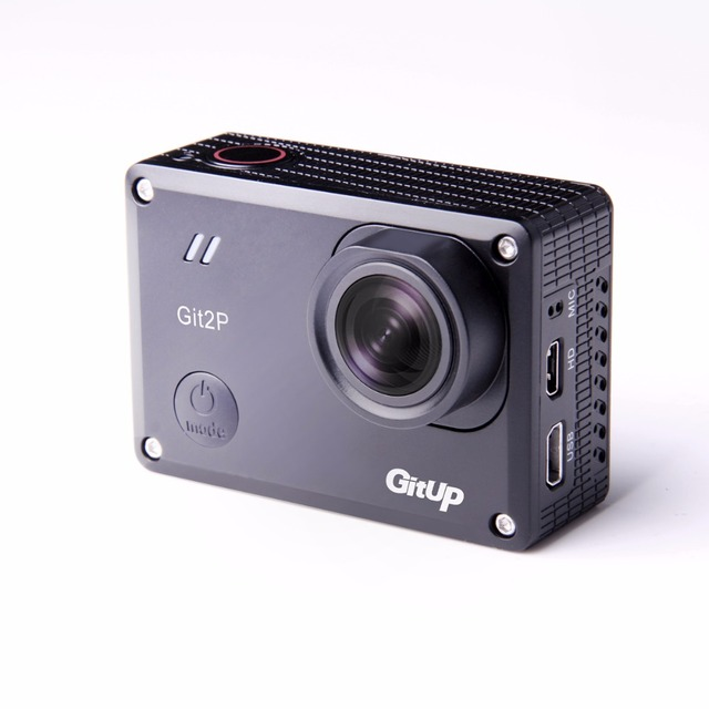 Action Camera with Wi-Fi Control
