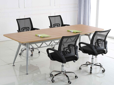 Conference Tables Office Furniture Commercial Wood Steel Table Desk Minimalist Modern 240