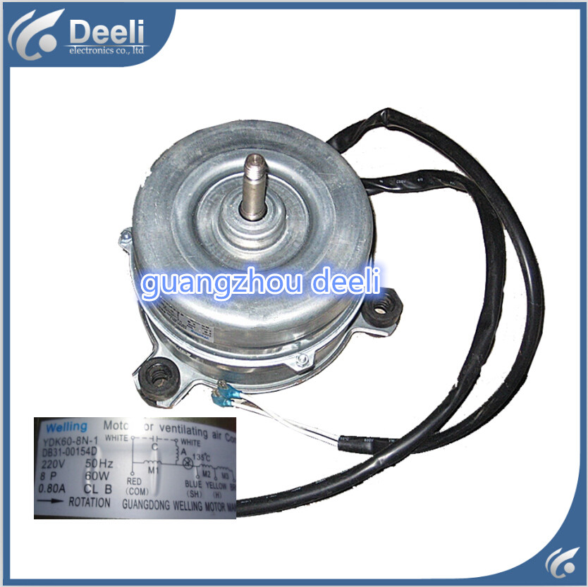 95% new good working for Samsung air conditioner inner machine motor YDK60-8N-1 DB31-00154D Motor fan 95% new used ups ems dhl 95% new good working for air conditioner inner machine motor fan ydk50 8g 3 7 line