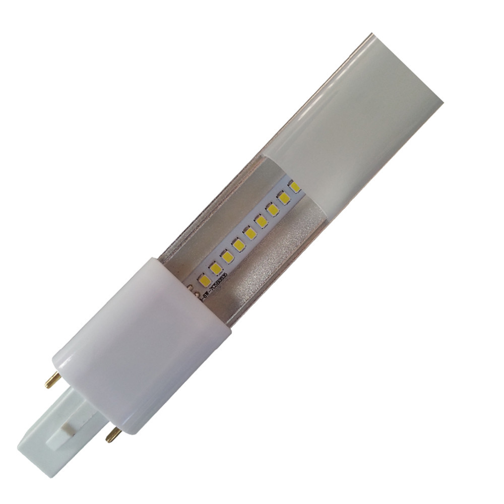 Dhl Free Shipping 50pcs G23 Led Lamp Slim 4w G23 Led Pl Light Brightness 420lm G23 Led Bulb - G23 Led