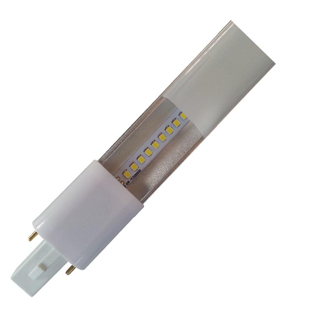 DHL livraison gratuite 50 pcs G23 lampe à led mince 4 W G23 led PL luminosité 420LM G23 led ampoule remplacer CFL lumière livraison gratuite
