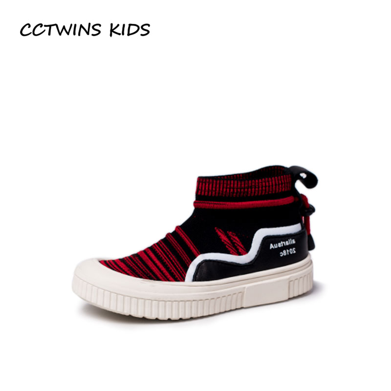 все цены на CCTWINS KIDS 2018 Autumn Boy Fashion High Top Sneaker Children Genuine Leather Trainer Baby Girl Sport Casual Shoe FH2239