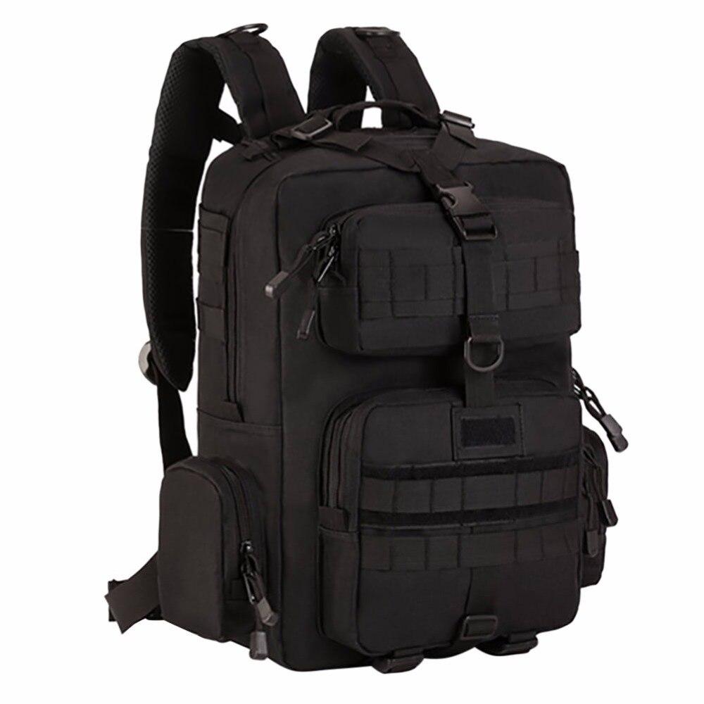 Sacs à dos en Nylon imperméables à l'extérieur sacs à dos tactiques Molle sacs à dos d'ordinateur portable sac à dos militaire sacs à dos sac de voyage Pack HX002 - 5