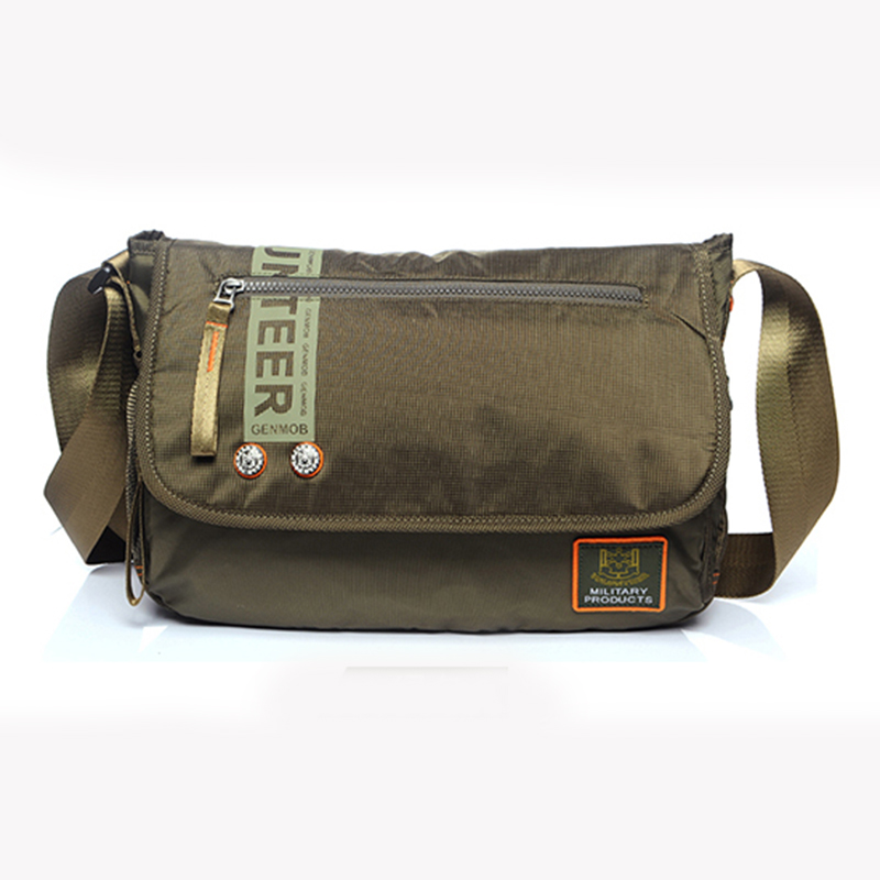 cca4382f489 High Quality Oxford Men Messenger Cross Body Casual Bag Waterproof Travel  Fashion Purse Pouch Male Military