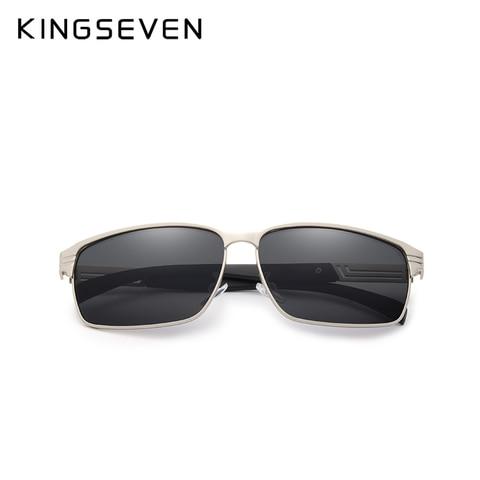 KINGSEVEN BRAND DESIGN Classic Polarized Sunglasses Men Driving Sun glasses Goggles UV400 Gafas Oculos De Sol Karachi