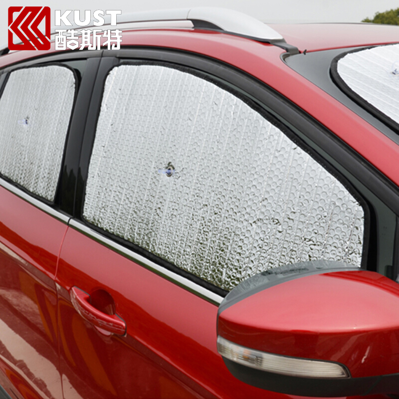Kust Anti-UV 8 PCS Parasol Car Sun Visors Sunshade Foils For Ford For Kuga 2017 Auto Sunvisor Sun Shade Visors For Kuga 2017 1pcs 8 10 inch ipad air sun shade sunshade hood cover anti dust for inspire