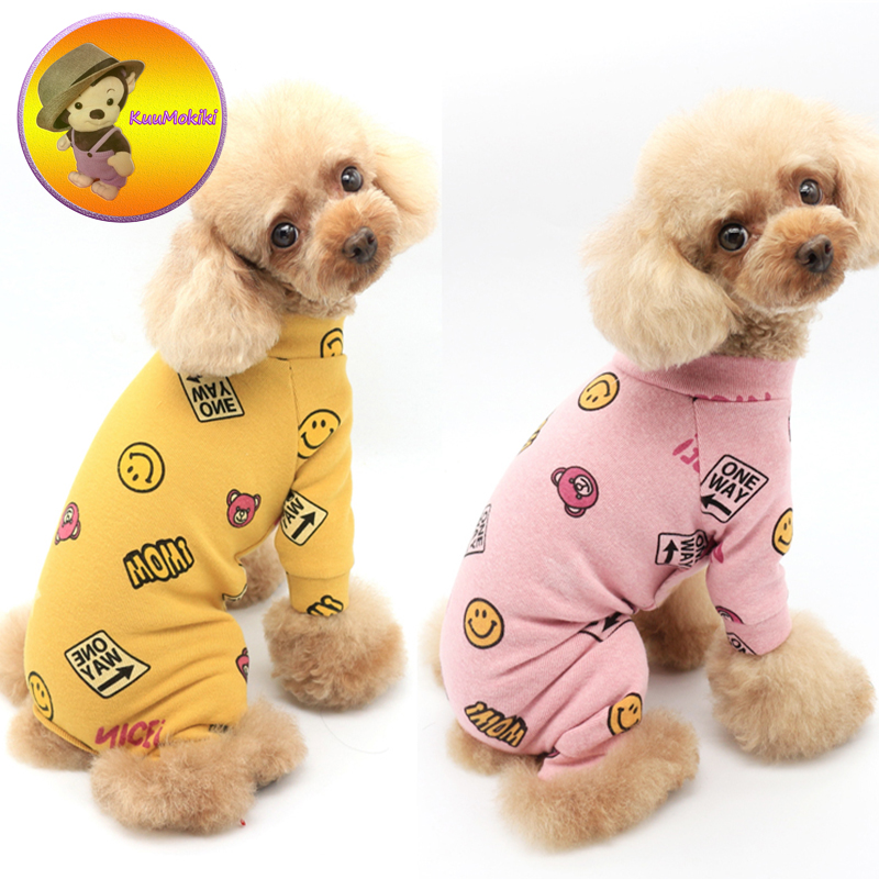 2XS-3XL dog pajams dogs nighty pet nightgown cat nightclothes cats clothing for sleepping puppy wearing suit for sleepping New