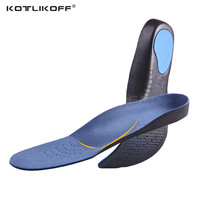 One Pair High Quality 3D Premium Comfortable Plush Cloth Orthotic Insoles Flat Feet Arch Support Insoles