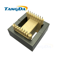 Tangda EE65B core EE Bobbin magnetic core + skeleton soft magnetism ferrites magnetic core 8+8pin 16P SMPS RF Transformers AG